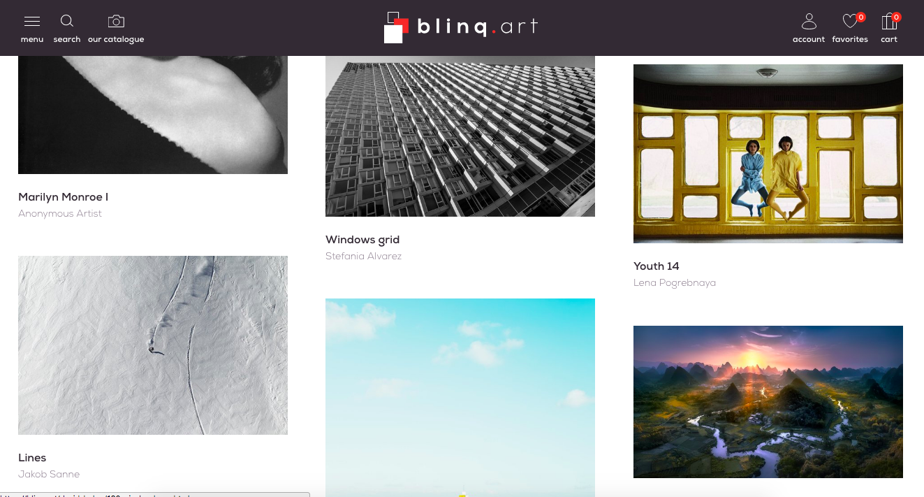 blinq.art: fine art photography at your fingertips
